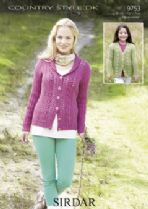 Sirdar Country Style DK - 9753 Cardigans Knitting Pattern